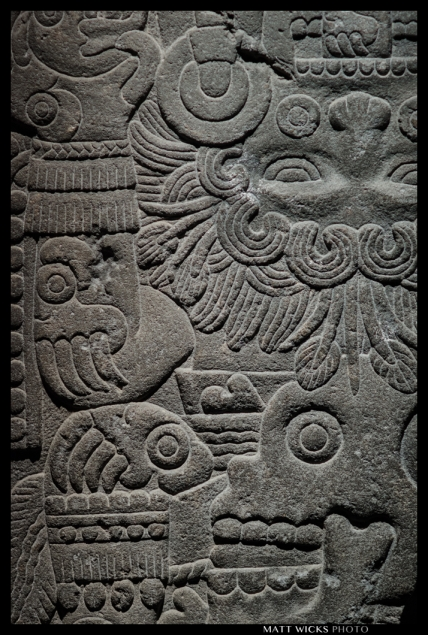 relief of Tlaltecuhtli, deity of the Earth