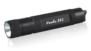 the Fenix E01 flashlight.