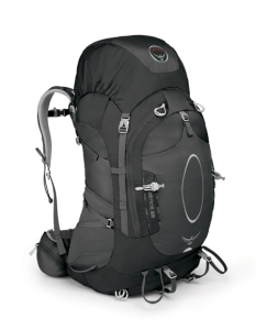 the Osprey Atmos 65 internal frame backpack.