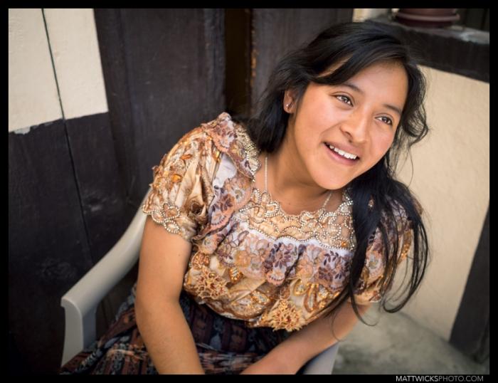 Zenaida, of Casa Seibel.  Xela, Guatemala.