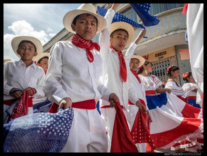 One of many parades this week.  Xela, Guatemala.