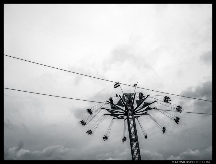 Swing intersection.  Xela, Guatemala.