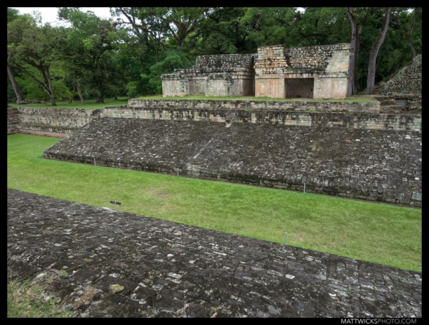 The main ball court of Copán.