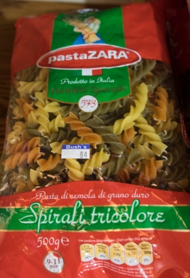 $4 US for a smallish bag of pasta.